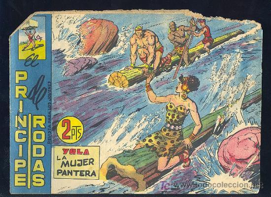 EL PRINCIPE DE RODAS. Nº 68. EDITORIAL MAGA. (Tebeos y Comics - Maga - Otros)