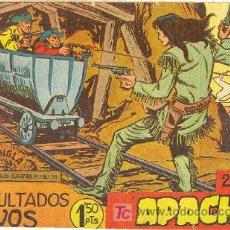Tebeos: APACHE 2ª Nº 2 CON ENCARTE DE PUBLICIDAD. Lote 27048334