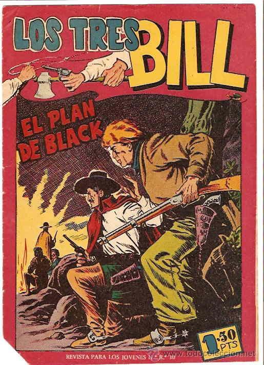LOS TRES BILL Nº 12 MAGA SIN ABRIR ORIGINAL 1958 - LEER (Tebeos y Comics - Maga - Otros)