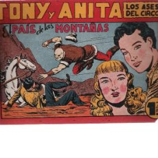 Tebeos: TONY Y ANITA. MAGA Nº 72. Lote 9665218