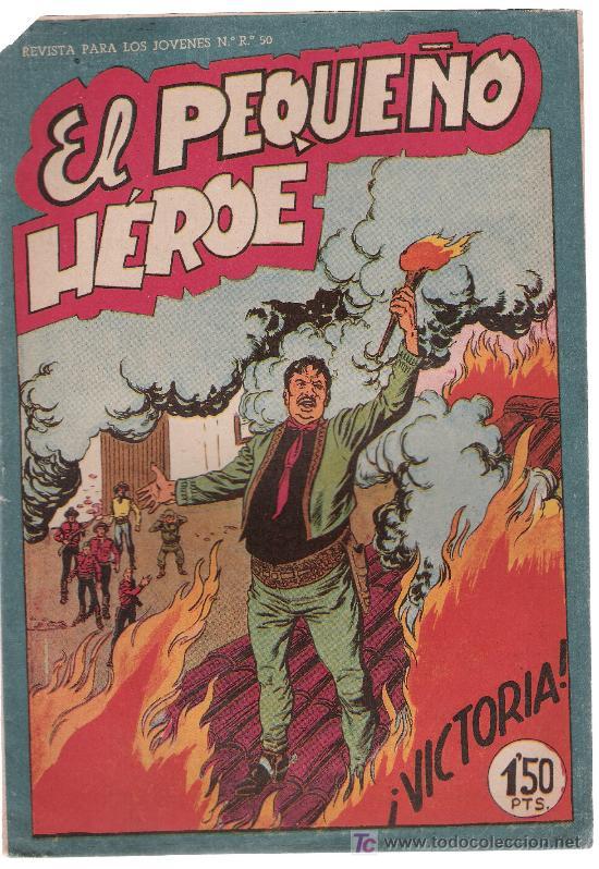 EL PEQUEÑO HÉROE. MAGA 1956. Nº 32. SIN ABRIR (Tebeos y Comics - Maga - Pequeño Héroe)