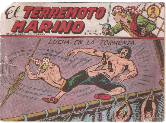 EL TERREMOTO MARINO. MAGA. Nº 28 (Tebeos y Comics - Maga - Otros)