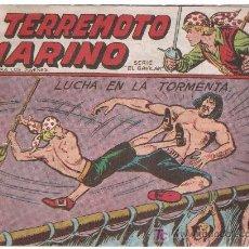 Tebeos: EL TERREMOTO MARINO. MAGA. Nº 28. Lote 9676549