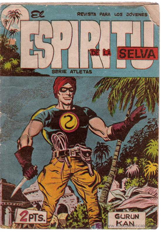 EL ESPIRITU DE LA SELVA.MAGA. Nº 8 (Tebeos y Comics - Maga - Otros)