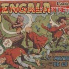 Tebeos: BENGALA-2ª PARTE -ENTRE EL Nº1 YEL 44 DIBUJADO ORTIZ-1ª EDIÓN CAJA 180 ISA SUELTS MINIMO 3-POR 20E. Lote 20885074