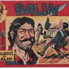 Tebeos: BALIN Nº 18 ORIGINAL MAGA. Lote 14176984