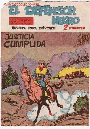 EL DEFENSOR NEGRO Nº 28 ORIGINAL (Tebeos y Comics - Maga - Otros)