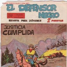 Tebeos: EL DEFENSOR NEGRO Nº 28 ORIGINAL. Lote 26199240