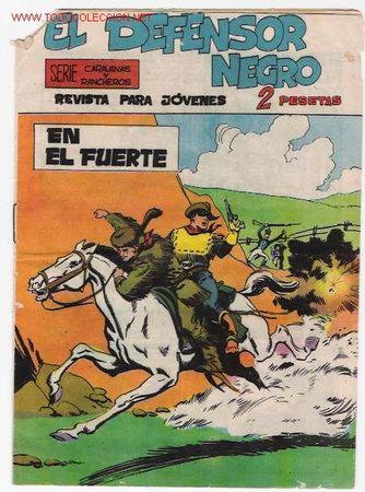EL DEFENSOR NEGRO Nº 11 ORIGINAL (Tebeos y Comics - Maga - Otros)