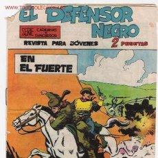 Tebeos: EL DEFENSOR NEGRO Nº 11 ORIGINAL. Lote 26199241