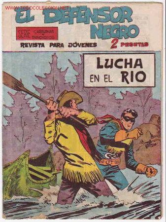 EL DEFENSOR NEGRO Nº 34 - ORIGINAL (Tebeos y Comics - Maga - Otros)