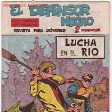 Tebeos: EL DEFENSOR NEGRO Nº 34 - ORIGINAL. Lote 26199248