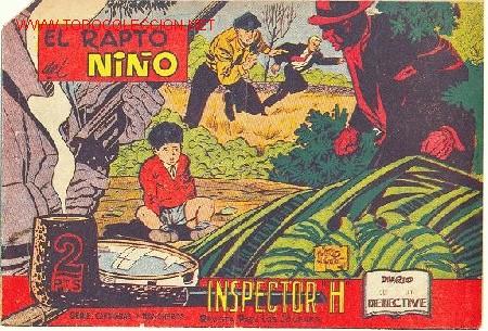 EL INSPECTOR H, Nº 3 - EDITORIAL MAGA 1961 (Tebeos y Comics - Maga - Otros)