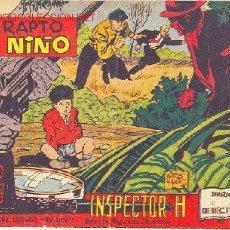 Tebeos: EL INSPECTOR H, Nº 3 - EDITORIAL MAGA 1961. Lote 10491908