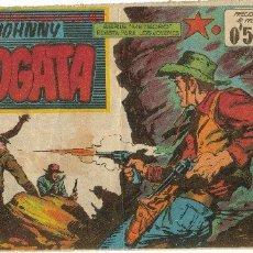 Tebeos: JOHNNY FOGATA ( MAGA ) ORIGINAL 1960-1961 LOTE. Lote 26248980