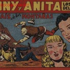 Tebeos: TONY Y ANITA - Nº: 72 MAGA 1.951 ORIGINAL . Lote 4997135