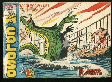 EL COLOSO, ORIGINAL Nº28 -EDITORIAL MAGA,1960- EL ARBOL FLOTANTE (Tebeos y Comics - Maga - Otros)