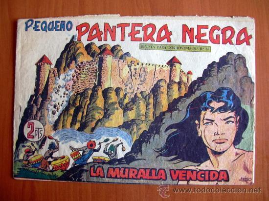 PEQUEÑO PANTERA NEGRA, Nº 214 - EDITORIAL MAGA 1960 (Tebeos y Comics - Maga - Pantera Negra)