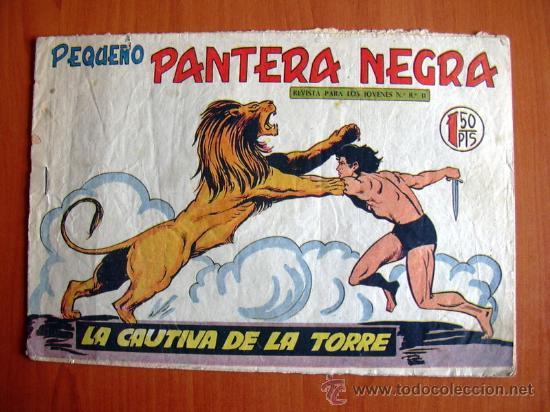 PEQUEÑO PANTERA NEGRA, Nº 187 - EDITORIAL MAGA 1960 (Tebeos y Comics - Maga - Pantera Negra)