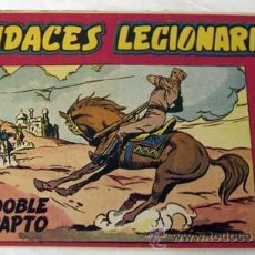 Tebeos: TEBEO AUDACES LEGIONARIOS Nº13 DOBLE RAPTO ED MAGA 1958. Lote 9955869