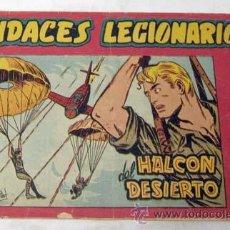 Tebeos: AUDACES LEGIONARIOS Nº 5 EL HALCÓN DEL DESIERTO ED MAGA 1958. Lote 9955908