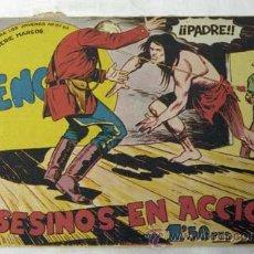 Tebeos: TEBEO BENGALA Nº 28 ASESINOS EN ACCIÓN ED MAGA 1959. Lote 9956051