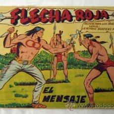 Tebeos: FLECHA ROJA Nº 14 EL MENSAJE ED MAGA 1959. Lote 9958875