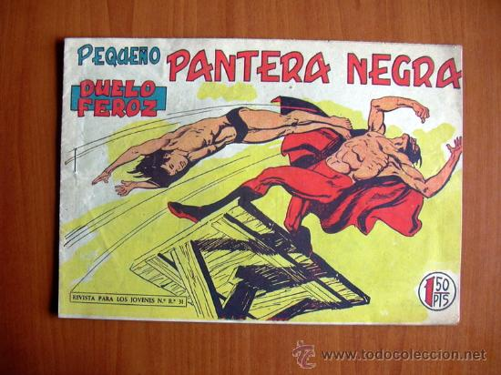 PEQUEÑO PANTERA NEGRA, Nº 171 - EDITORIAL MAGA 1960 (Tebeos y Comics - Maga - Pantera Negra)