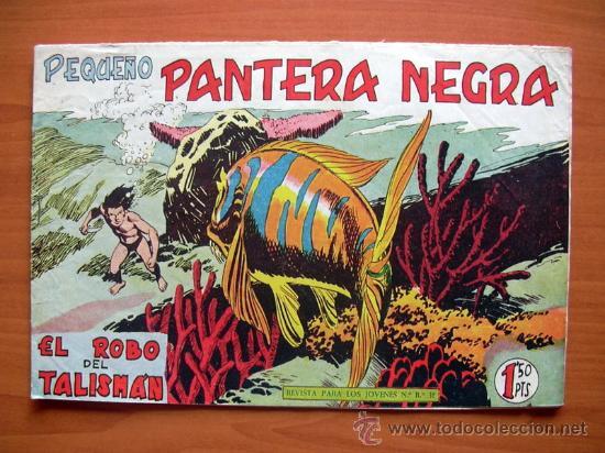 PEQUEÑO PANTERA NEGRA, Nº 149 - EDITORIAL MAGA 1960 (Tebeos y Comics - Maga - Pantera Negra)