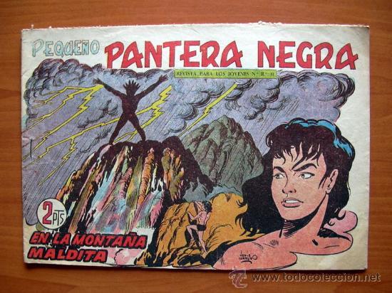 PEQUEÑO PANTERA NEGRA, Nº 217 - EDITORIAL MAGA 1960 (Tebeos y Comics - Maga - Pantera Negra)