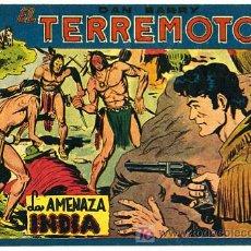 Tebeos: DAN BARRY , EL TERREMOTO, Nº 33. Lote 105259216