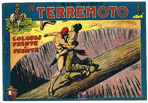 DAN BARRY , EL TERREMOTO, Nº 36 (Tebeos y Comics - Maga - Dan Barry)