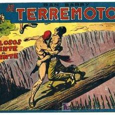 Tebeos: DAN BARRY , EL TERREMOTO, Nº 36. Lote 105259194