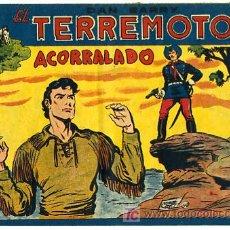 Tebeos: DAN BARRY , EL TERREMOTO, Nº 43. Lote 26570415