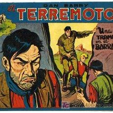 Tebeos: DAN BARRY , EL TERREMOTO, Nº 50. Lote 27026427