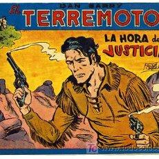 Tebeos: DAN BARRY , EL TERREMOTO, Nº 52. Lote 26907325