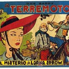 Tebeos: DAN BARRY , EL TERREMOTO, Nº 54. Lote 26724449