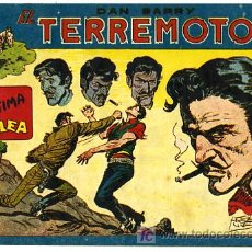 Tebeos: DAN BARRY , EL TERREMOTO, Nº 57. Lote 26570430