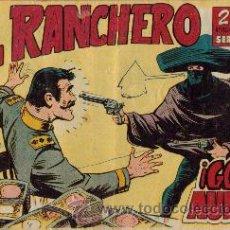 Tebeos: EL RANCHERO (MAGA) ORIGINALES 1961 LOTE. Lote 26774697