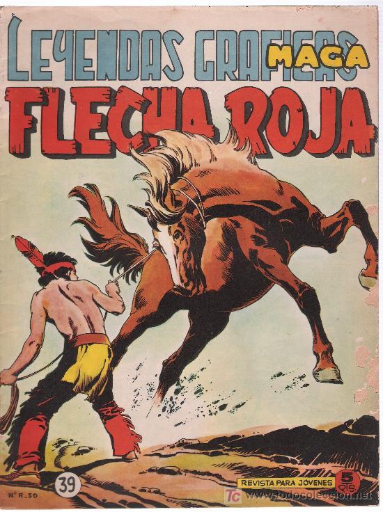 FLECHA ROJA REVISTA. Nº 39 (Tebeos y Comics - Maga - Flecha Roja)