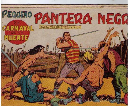 PEQUEÑO PANTERA NEGRA Nº 140 (Tebeos y Comics - Maga - Pantera Negra)