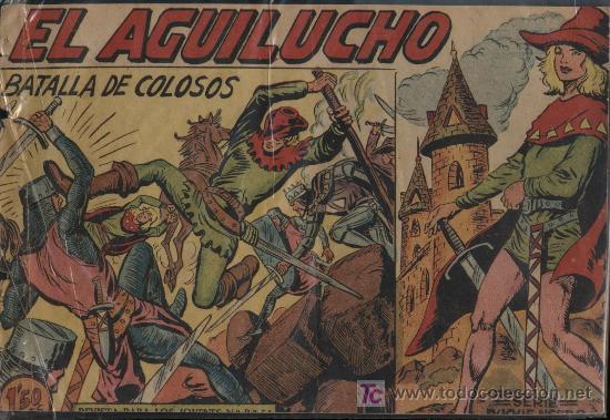 EL AGUILUCHO. Nº 6 (Tebeos y Comics - Maga - Otros)