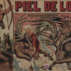 Tebeos: PIEL DE LOBO. Nº 33. Lote 26766227