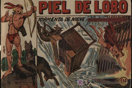 PIEL DE LOBO. Nº 32 (Tebeos y Comics - Maga - Piel de Lobo)