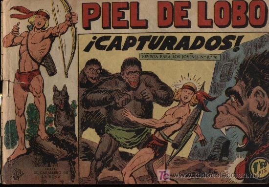 PIEL DE LOBO. Nº 28 (Tebeos y Comics - Maga - Piel de Lobo)