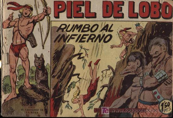 PIEL DE LOBO. Nº 23 (Tebeos y Comics - Maga - Piel de Lobo)