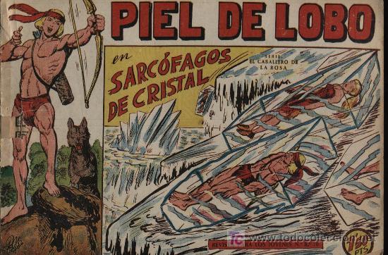 PIEL DE LOBO. Nº 19 (Tebeos y Comics - Maga - Piel de Lobo)