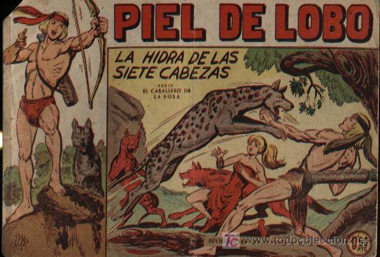 PIEL DE LOBO. Nº 8 (Tebeos y Comics - Maga - Piel de Lobo)