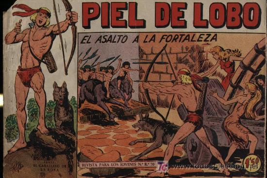 PIEL DE LOBO. Nº 52 (Tebeos y Comics - Maga - Piel de Lobo)