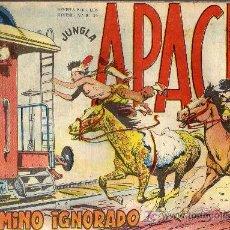Tebeos: APACHE Nº 46 - LUIS BERMEJO - COL. JUNGLA - EDITORIAL MAGA 1958 - ORIGINAL, NO FACSIMIL. Lote 10996291